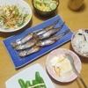 釧路のシシャモ、わかめごはん、若葉香るホップ