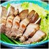 煮込み豚バラ肉にコチュジャンタレを乗せて|胡麻担担スープ鍋