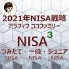 【NISA】アラフィフ主婦ココファミリーの2021年楽天証券のNISA戦略