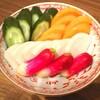 色とりどりのお野菜!量り売りの糠漬け 漬物 やなぎに桜 その②