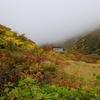 ほんとの空の下・秋色に染まる山並みが広がる(はずだった) @安達太良山