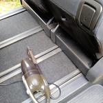 車内をきれいにすると