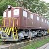 長戸路児童公園の東武鉄道車両