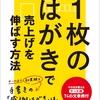 『1枚のはがきで売上げを伸ばす方法―――そのまま使えるケース別74の文章例』著者竹田陽一、キンドル電子書籍ストアにてリリース