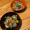 超簡単春菊のサラダと十目豆