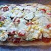 市販のミートソース缶を使って簡単手作りおうちピザ(*^^*)