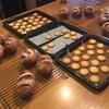 2月レッスンの黒糖くるみパンとサブレ