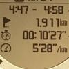 【マラソン日記】5kmサブスリーペース走