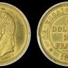 フランス1867年ナポレオン3世 パターン5ドル/25フラン金貨