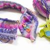 Opal毛糸のバックワーズセーター