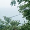 雨、豊島。