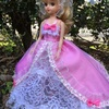 ピンクのお姫さまドレス