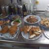 幸運な病のレシピ( 211 ) 朝 : 鳥カツ、手羽先から揚げ、キンピラ(煮豚)、白子みそ汁