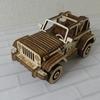 新車を買いました。立体パズルですが。Woodtrickのカッコいい立体パズルを作っておうち時間を楽しみましょう。