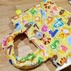 1歳児に指遊びの仕掛け付きキルトバッグを作ってみた