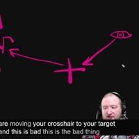 【AIM考察16】クロスヘアを見ずに目できちんと敵を追う方法