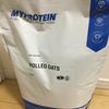 押し麦 Myprotein Rolled Oats食べて見たよ(MYPROTEIN)
