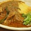 大久保の「魯珈」で骨付きビーフのスリランカ風カレー。