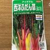 作物No.20 長期間収穫できる『スイスチャード アイデアル』を花壇で栽培します!
