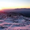 今シーズン初の雪のくじゅう〜稲星山へ朝駆け〜
