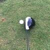 ドライバーヘッドとボールの位置を意識してみた。トップをフラット気味に上げて豪打復活!!