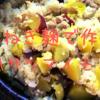 シメのドリアのためにわざわざ玉ねぎ麹を入れて洋風に作る/絶品!2度美味しい秋の炊き込みご飯