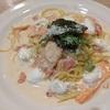 サーモンとかにの魚介クリームスパゲティ