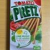 グリコ トマトプリッツ を食べてみて