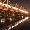 鉄橋とじっくり向き合う