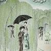 Peaceful rain    平和な雨