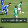 日本サッカーを強くさせるなどと言う前にやるべきこと