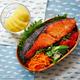 #885 鮭の味噌漬け焼き弁当
