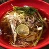 617. 初カツオsoundtracks@八咫烏(九段下):美味しすぎる初鰹のタタキと清湯スープの後を引く旨味が至極の一杯!春らしい具材による絶品の和食セットも最高!