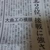 今日の四国新聞の大曲工業の評価はいかに