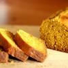 アメリカの家庭の味★スパイスの効いた本格的なパンプキンブレッド(かぼちゃケーキ)の作り方。100円ショップのパウンド型が使いやすい♪