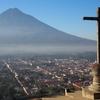 アンティグアの名所「十字架の丘」からの写真と登頂にお勧めの2つ時間帯