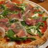 ●新都心「サルバトーレ・クオモ」のプロシュートとルッコラのPizza