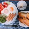 朝食のスタイル