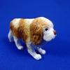 キャバリアという犬を粘土で作りました
