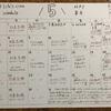 5月の class schedule