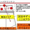 【練習】バレーバドミントン