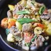 ラムと野菜のサブジ
