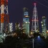 堺泉北臨海工業地帯工場夜景