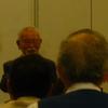 共謀罪に反対する学者研究者の会主催の学習会。村井敏邦元刑法学会理事長が講演