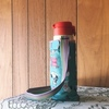 サーモスの水筒カバーを参考に手作り、作り方のメモと改善点