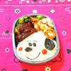 くまのハート弁当とスヌーピー弁当/My Homemade Bear & Snoopy Lunchbox/ข้าวกล่องเบนโตะที่ทำเอง