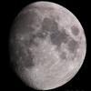 熱帯夜の月(月齢10.699)