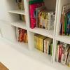 組み替え可能、お手頃価格のお気に入り本棚!絵本収納に活用してます