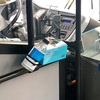 コロナウイルス対策に積極的な市内バス。