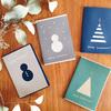 絵心無用で簡単!丸三角四角だけで描く手作りクリスマスカード